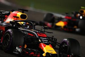 Daniel Ricciardo of Australia driving for Red Bull