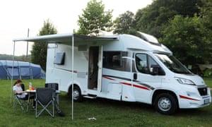 Maddy at campervan