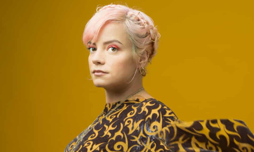 Lily Allen photographed in London.