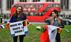 EU citizens based in Britain
