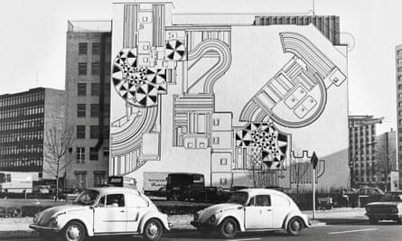 The mural in 1970s Berlin