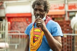 Superman, local resident