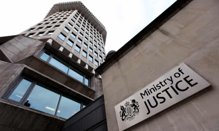 The Ministry of Justice building in Westminster