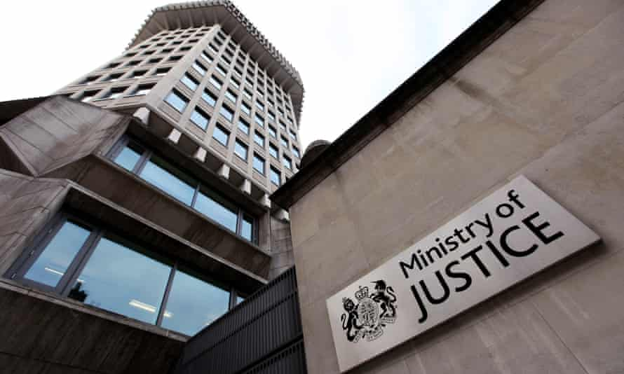 The Ministry of Justice building