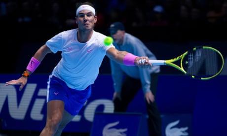 Rafael Nadal v Stefanos Tsitsipas: ATP World Tour Finals – live!