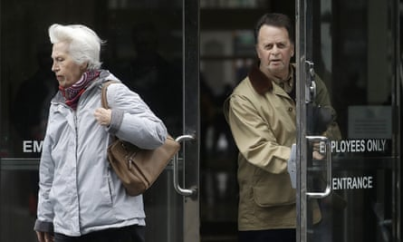 Edwin Hardeman, right, with his wife Mary, is the first person to successfully bring a Roundup cancer case to trial in US federal court.