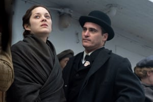 Marion Cotillard and Joaquin Phoenix in James Gray's masterly The Immigrant.