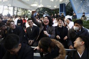 High spirits at Tokyo Disneyland