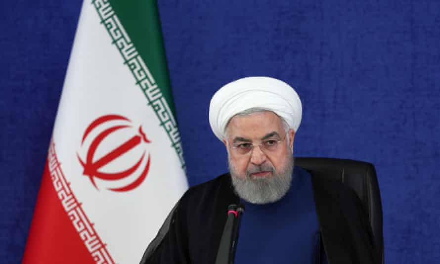 Iranian President Hassan Rouhani spoke of a 'great success'.