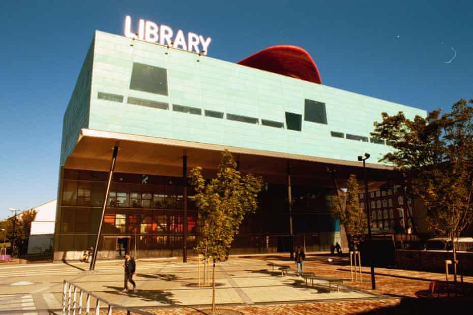 Peckham library, south London.