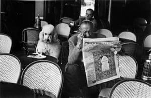 Cafe De Flore, Saint Germain Des Pres, Paris, 1953