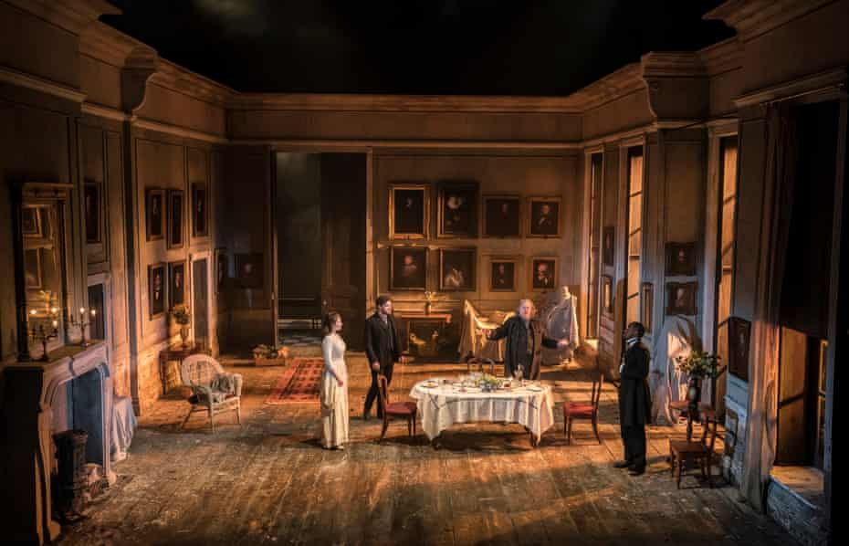Rae Smith's design offers crucial innovations … Rosmersholm.