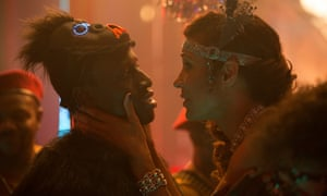 Francis [Welket Bungué] and Eva [Annabelle Mandeng] in Burhan Qurbani's film adaptation of Berlin Alexanderplatz.