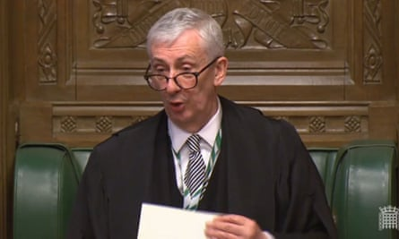 Speaker Lindsay Hoyle chairs the House of Commons commission, which implemented the scheme