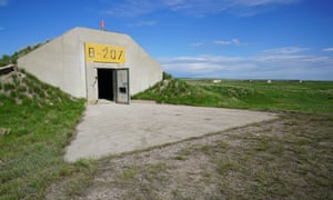 Vivos xPoint, a former Army munitions depot, has 575 hardened concrete military bunkers and is the largest survival shelter community on Earth, located near the Black Hills area of South Dakota, US.