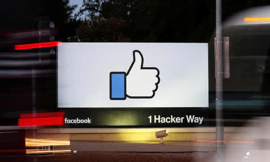 Facebook's headquarters at Menlo Park, California.