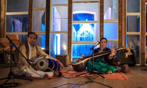 Sitar, singer or bagpipe player ... every act is a surprise at Sanctum