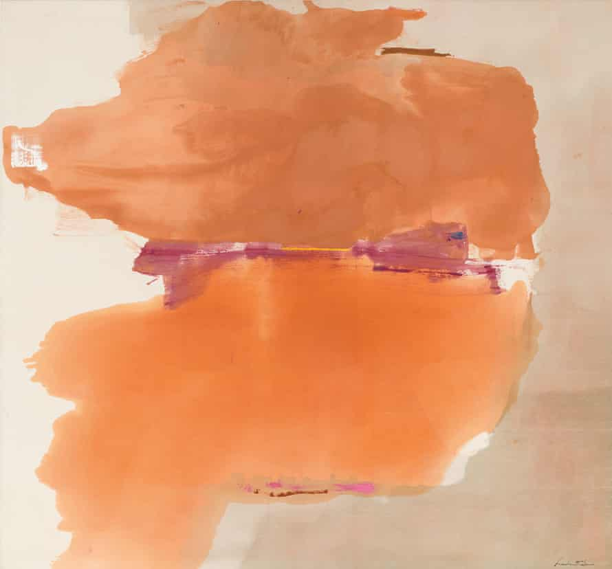 'A glimpse of the infinite' … Sphinx, 1976, by Helen Frankenthaler.