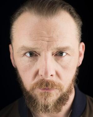 Actor Simon Pegg