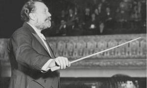 Sir Henry Wood, January 1934.