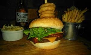 The Bohemian, Newcastle … veggie burger