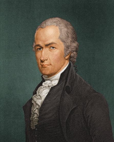 Alexander Hamilton (c1790).