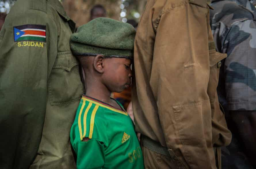 Child soldier, South Sudan