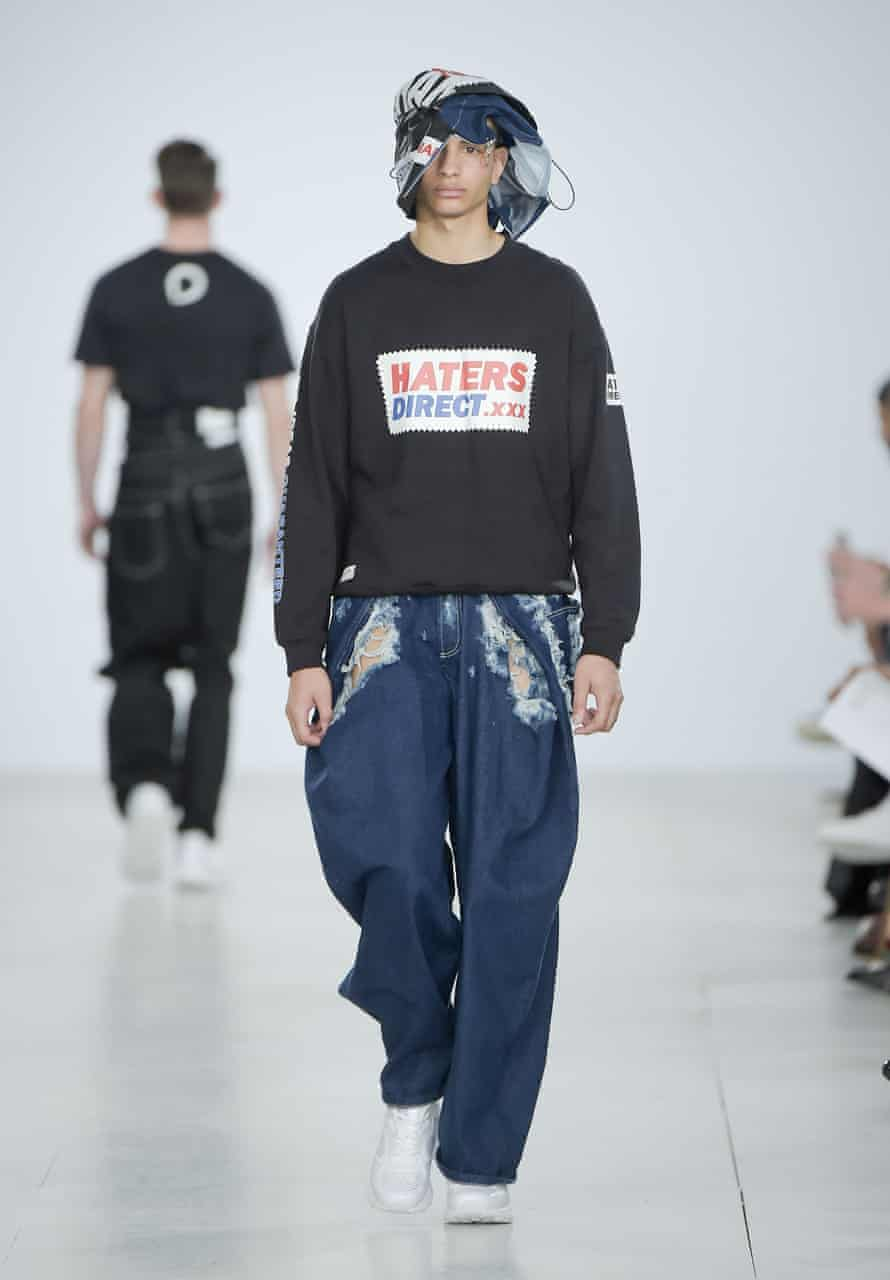 Haters Direct at Christopher Shannon, London Collections Men, SS17