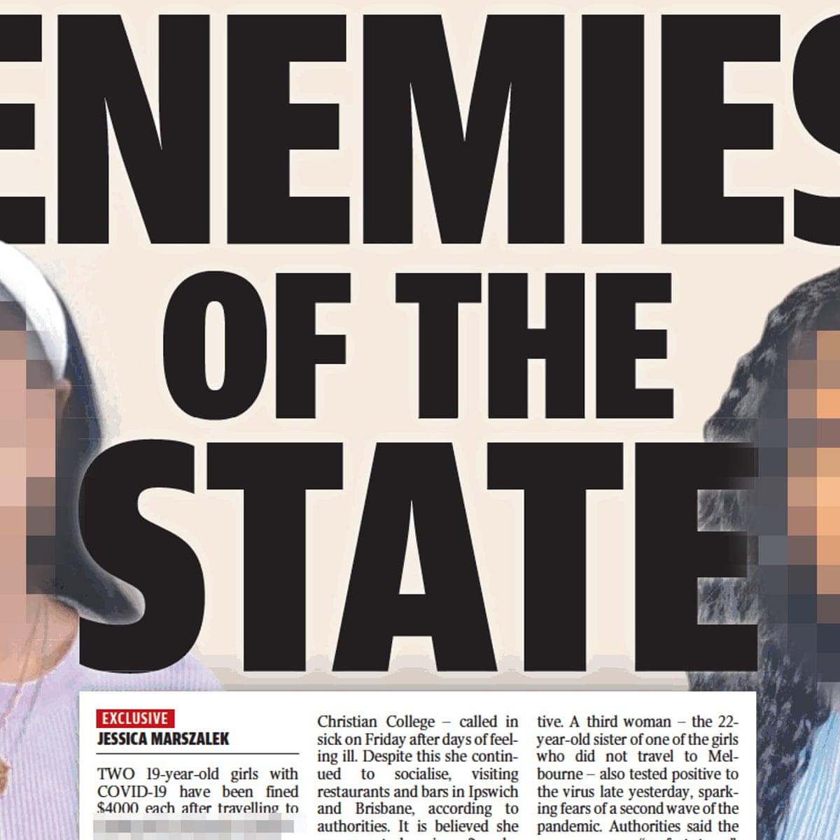 Abc Drawn Into Row Over Naming Brisbane Women Accused Of Covid 19 Quarantine Deception Amanda Meade The Guardian