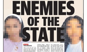 Thursday's Courier-Mail front page identifies two Queensland women who tested positive to coronavirus and are accused of lying to police