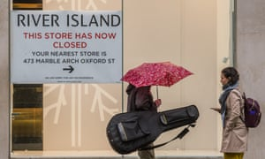 Another store emptied, this time River Island has pulled out of one of its Oxford Street stores. Many retail units have closed since the pandemic started.