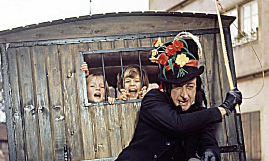 Hidden meaning: the child catcher in Chitty Chitty Bang Bang.
