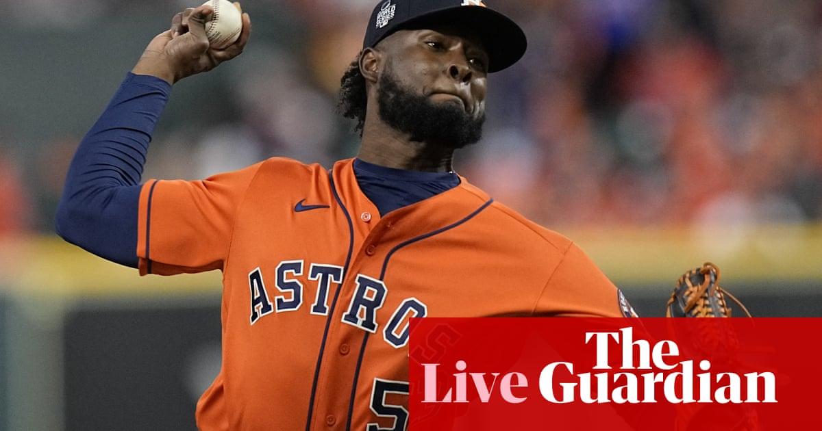 World Series Game 2: Atlanta Braves v Houston Astros – live!