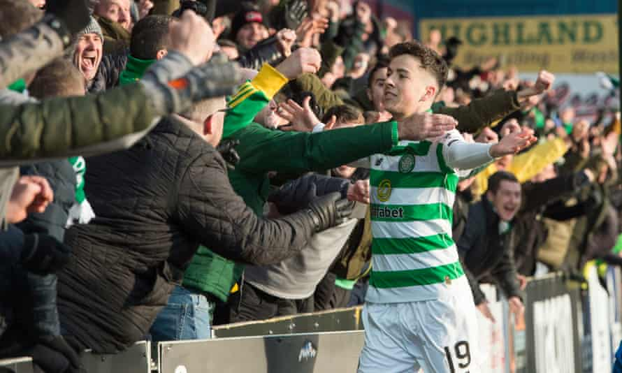 Michael Johnston completed the scoring for Celtic.