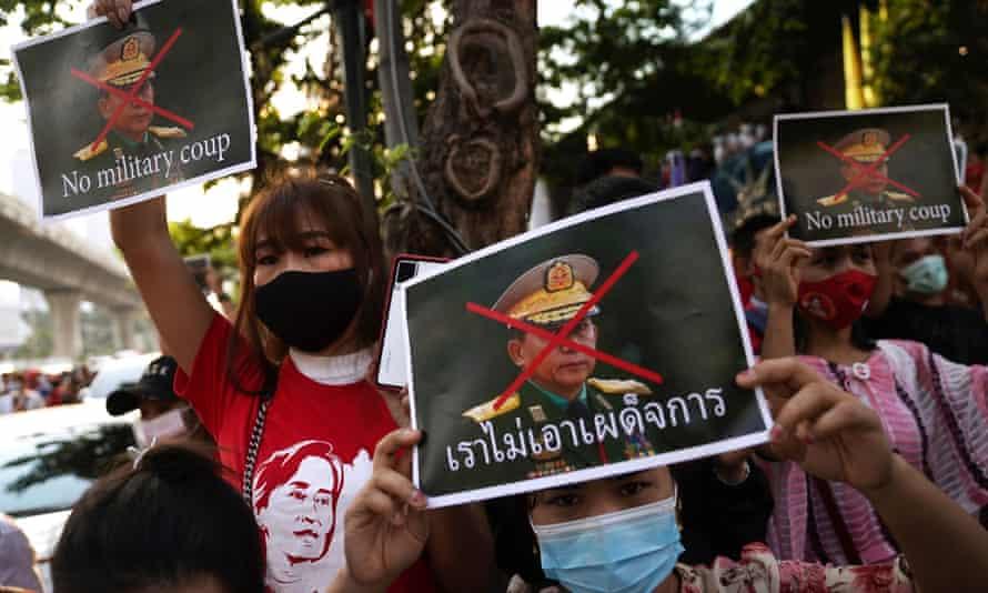 Myanmar coup: Joe Biden threatens to resume sanctions | Myanmar | The  Guardian