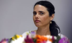 The bill was promoted by Israel's rightwing justice minister, Ayelet Shaked.