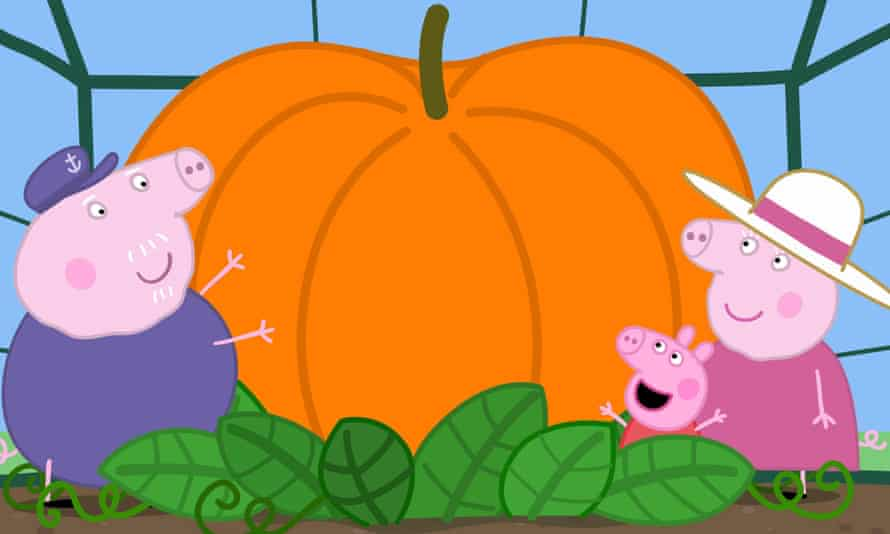 A still from the Peppa Pig TV show