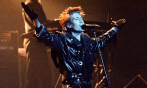 'It isn't my kind of film' … Richard Butler and the band perform in 1987.