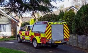 Fire brigade vehicle