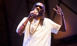 Snoop Dogg performs at the Lovebox festival in London in 2015