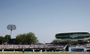 Trees at the Nursery end have always been part of the scenery at Lord's, although pots have to be grown in pots these days to avoid the 18-inch restriction.