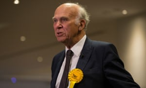 Sir Vince Cable.