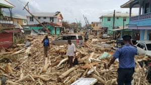 Maria devastated parts of the island still reeling from Hurricane Irma, which struck only days earlier