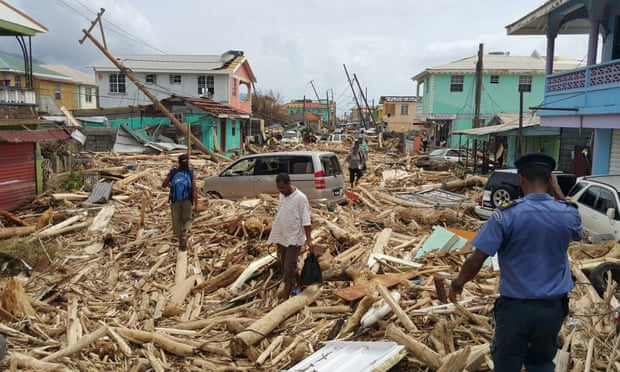 Roseau, the capital of Dominica, suffered devastating damage from Hurricane Maria. The storm also caused a widespread, ongoing disaster in Puerto Rico, leaving thousands dead.