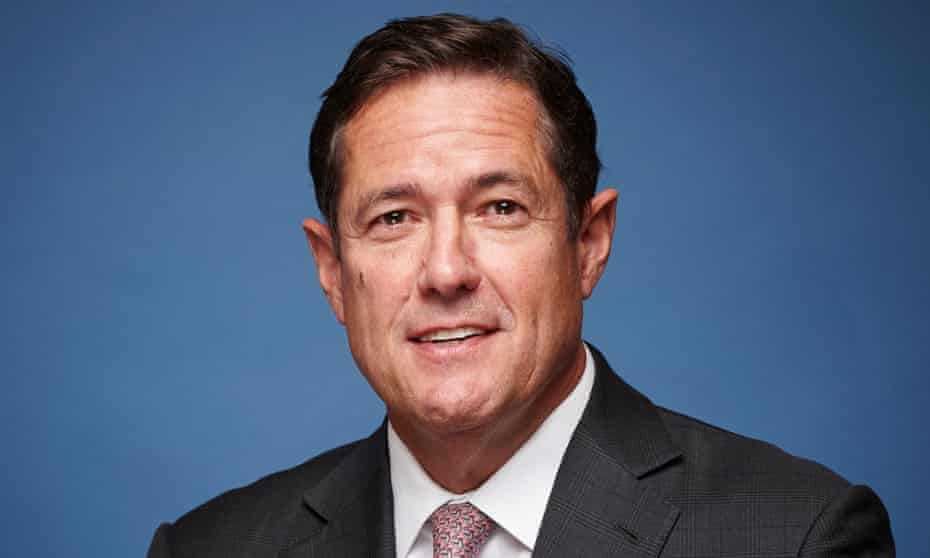 Jes Staley, new Barclays chief executive.