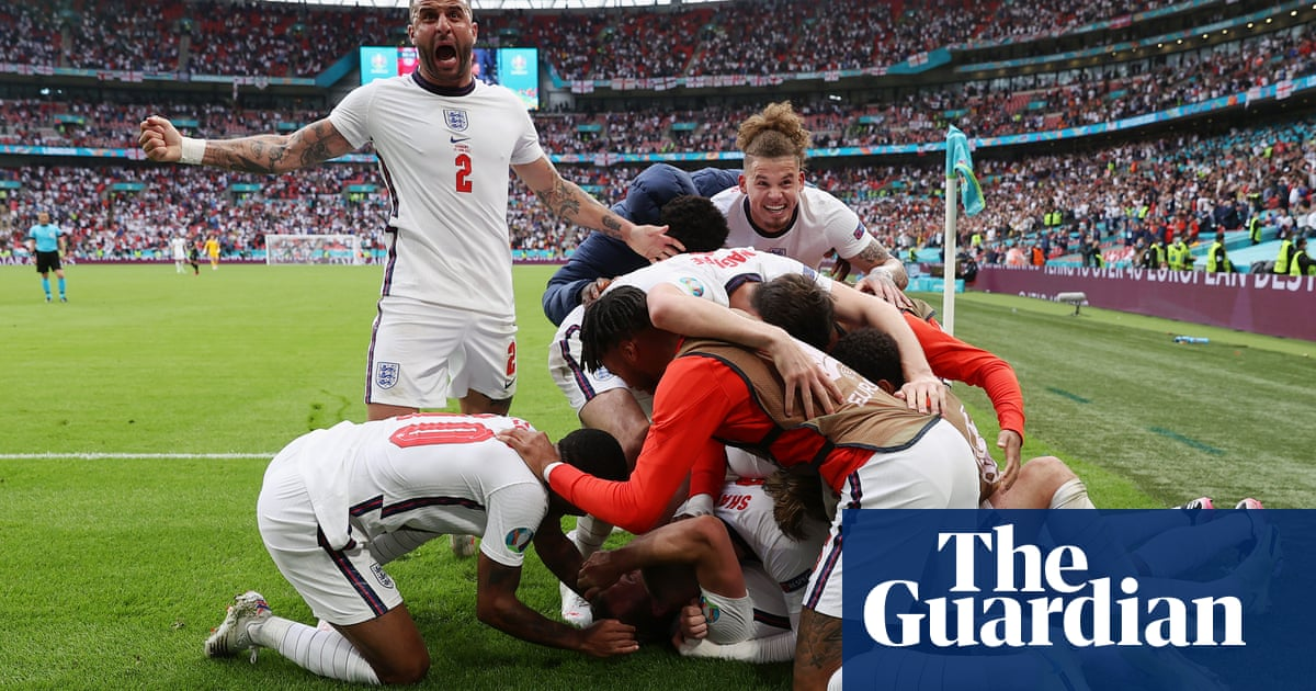 England step into strange new light as fear turns to joy in win over Germany