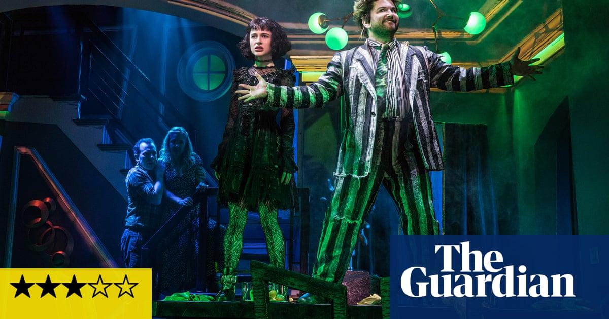 Beetlejuice review – fun, freaky Tim Burton adaptation