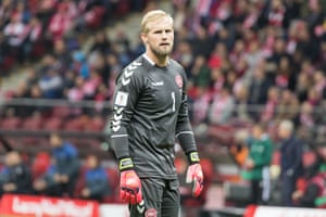 Will Kasper Schmeichel have two busy games against the Republic of Ireland?