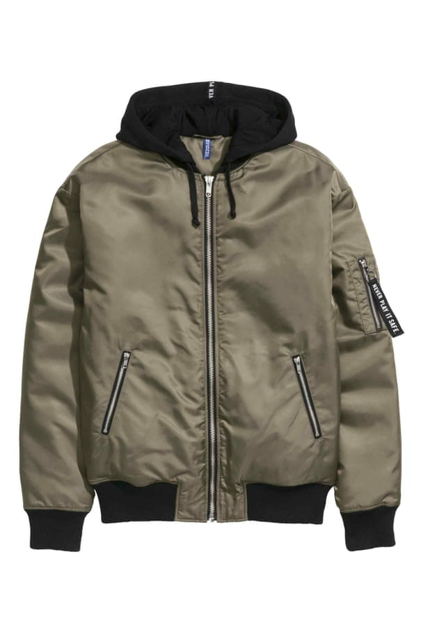 12c4227ef From bouncers to Calvin Klein models: the rise of the MA-1 bomber ...
