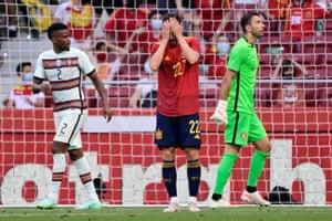 ¡Pablo Sarabia desaprovecha una oportunidad de oro para España!